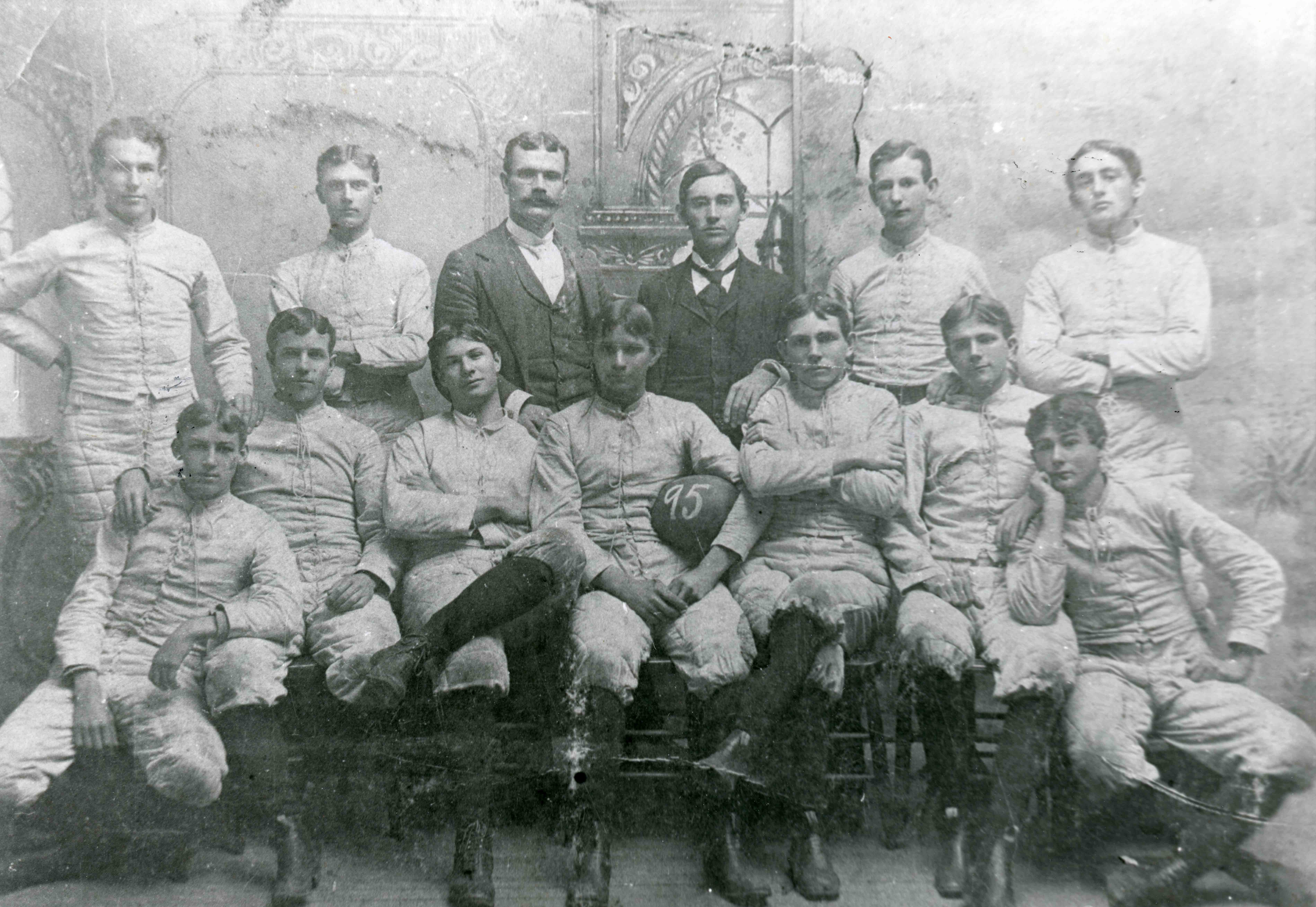 Historic photo of first Ouachita football team
