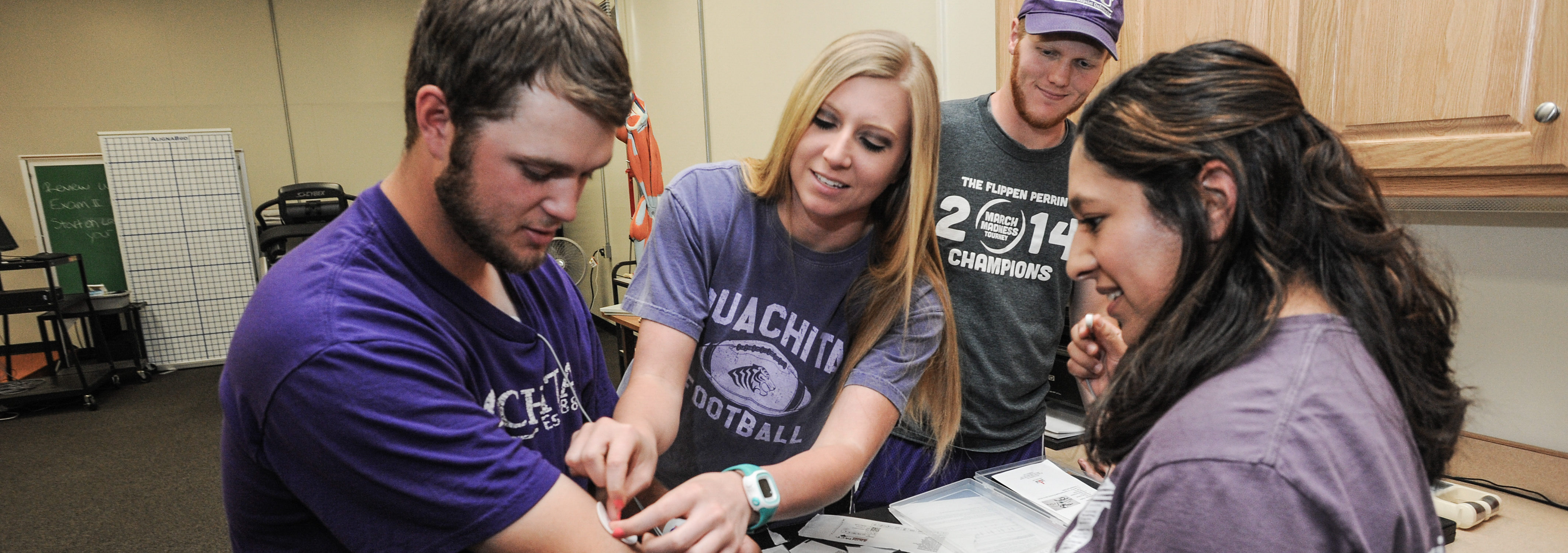 Ouachita received Gold Status credential, national recognition from the American College of Sports Medicine.