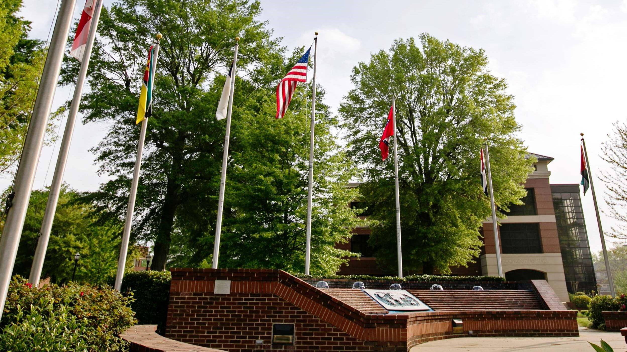 Ouachita flag plaza