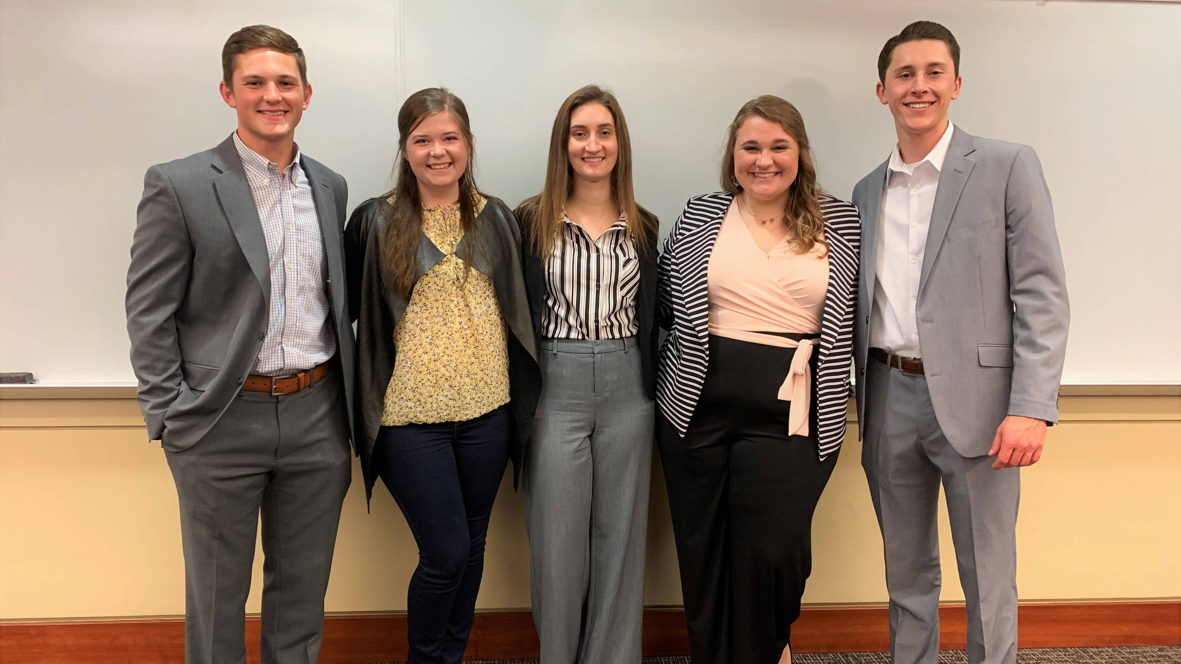 OBU Business Plan Competition winners