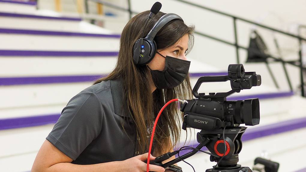 Ouachita Sports Digital Network student videos men's basketball game